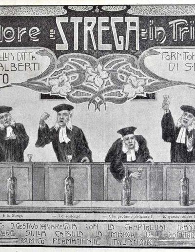 Liquore Strega 3 1906